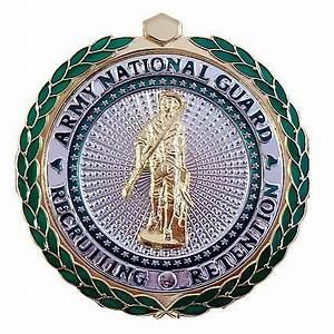 National Guard Recruiting and Retention Badge | ACU Army