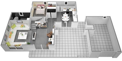 cuisine handsome plan de villa plan de plan de villa avec piscine plan de villa