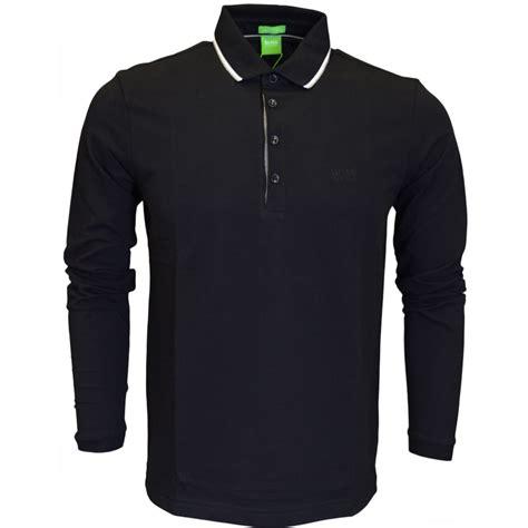 hugo green c tivoli modern fit sleeve black polo hugo green from n22 menswear uk
