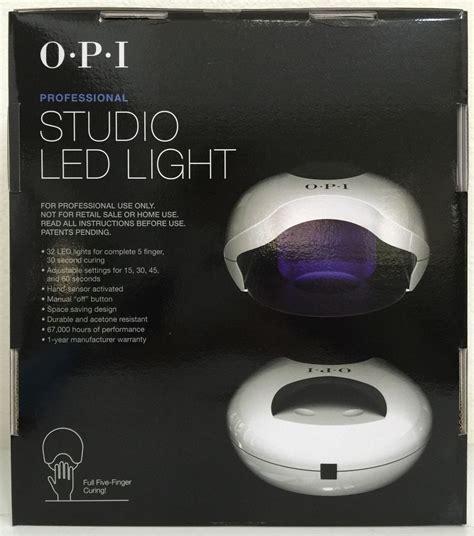 opi studio led light l gl900 cures gelcolor nail gel gel auth nib ebay