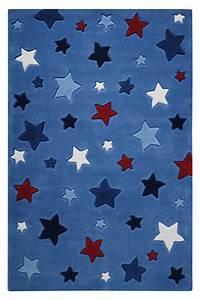 Teppich Stern Blau : teppich sterne blau smart kids ~ Markanthonyermac.com Haus und Dekorationen