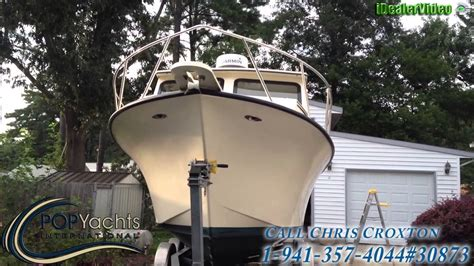 Maycraft Boats Youtube by Sold Used 2005 Maycraft 27 Pilothouse In Chesapeake