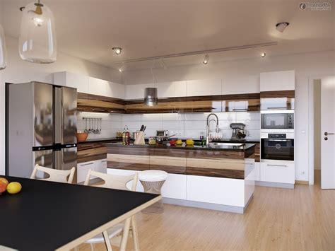 Home Interior Kitchen Design Photos : Furniture. Beautiful Kitchen Design Style In Modern And