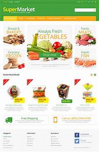 White Grocery Store PrestaShop Theme by Hermes - Bootstrap ...