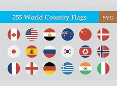 Get globalized with 12 sets of flag icons from all over