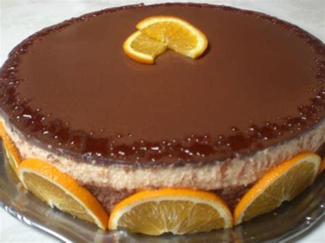 recette entremet 224 l orange et au chocolat facile et rapide recette g 226 teau facile