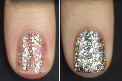 Glitter Nails Makeup Tutorial From Vlogger Kelli Marissa