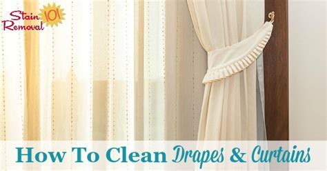 How To Dry Clean Curtains At Home