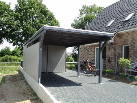 Elbecarportsde » Einzelcarport Lüneburg Mit Geräteraum