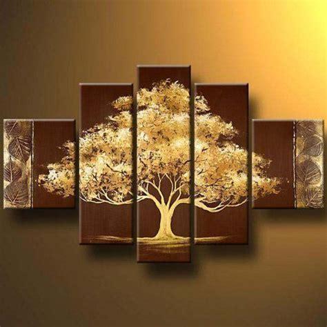 tree modern canvas wall decor landscape painting wall home decor ebay