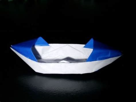 Origami Boat Video by Origami Boat Youtube