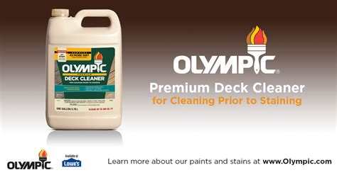 olympic 174 premium deck cleaner