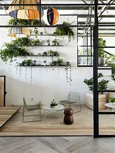 Pflanzen An Der Wand : inspirierende dekoideen kleiner innen gartenbereich ~ Markanthonyermac.com Haus und Dekorationen