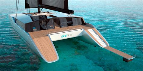 Catamaran Design Features by Sunreef Unveils A New Mega Catamaran Design The One