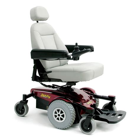 pride jazzy select 6 electric power chair with new