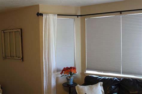 Bow Window Treatments Rods  Window Treatments Design Ideas