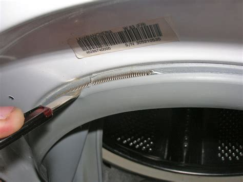 conseils d 233 pannage comment remplacer le joint hublot sur lave linge indesit w83 d 233 panner