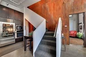 Effekt Farbe Streichen : 65 wand streichen ideen muster streifen und struktureffekte ~ Markanthonyermac.com Haus und Dekorationen
