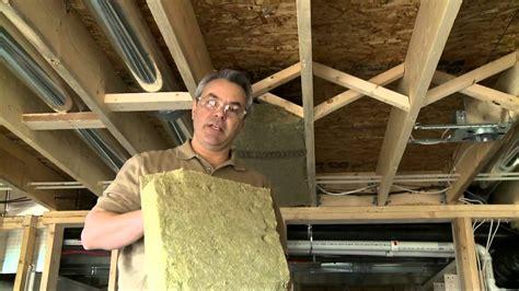 comment insonoriser les plafonds entre les 233 tages