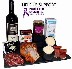 Charity Food Gift Selection Donate 10% To Pancreatic ...