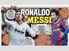 Ronaldo v Messi clash as Real Madrid face Barcelona
