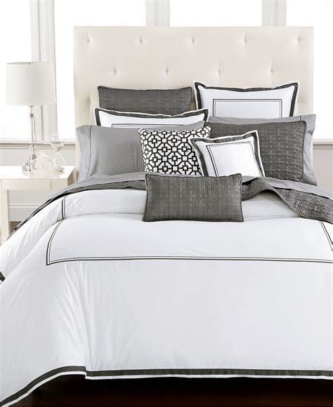 hotel collection embroidered frame bedding collection created for macy s bedding collections