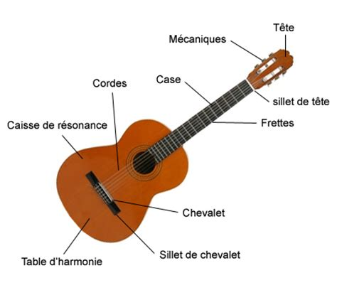anatomie de la guitare le nom des de votre guitare 233 lectrique ou accoustique i