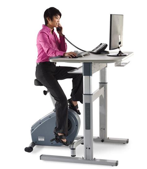 bike desks get an at your desk workout 1 free accessory
