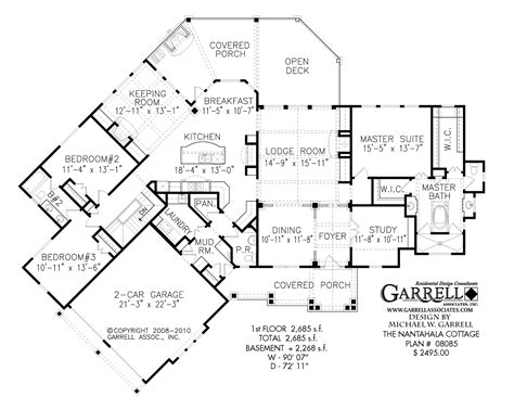 harmony mountain cottage house plan house plans by modern mountain cabin floor plans