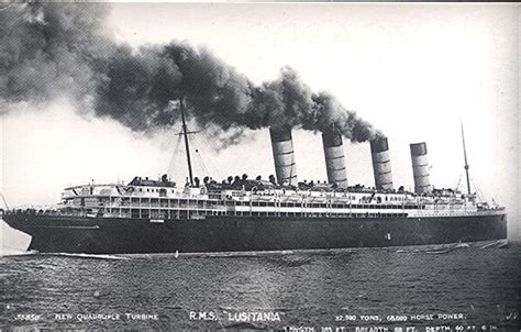 bibliography rms lusitania