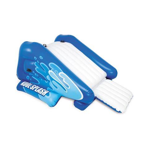 toboggan gonflable pour piscine enterr 233 e intex 224 prix mini