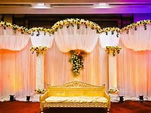 simple indian wedding reception decorations outdoor decoration