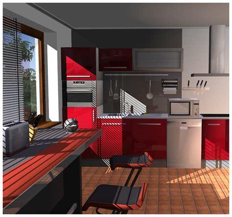 cuisine salle de bains 3d