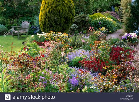 Eastgrove Cottage Garden Worcestershire Mixed Rose Border