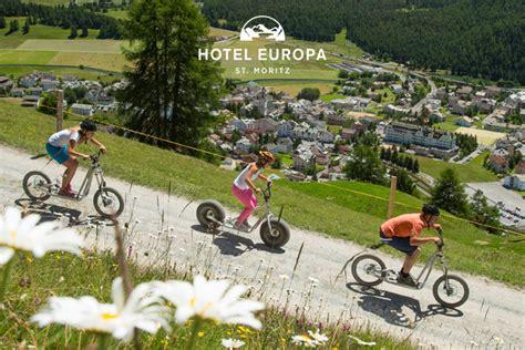 Der Sommer Kommt  Hotel Europa St Moritz Champfèr