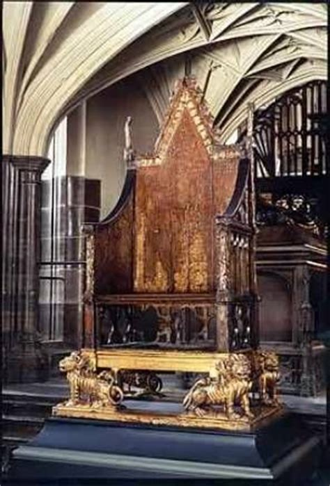 the throne of scone and the coronation on