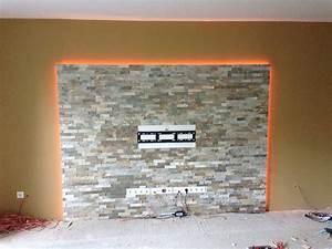 Wand Indirekt Beleuchten : hausmodding indirekte beleuchtung f r steinwand off modding we mod it das forum von ~ Markanthonyermac.com Haus und Dekorationen