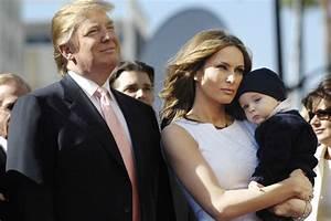 Donald Trump , 3 mariages, 5 enfants... Sa famille en image