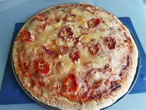 Pizza In Mikrowelle : selbstgemachte pizza aus der kombi mikrowelle rezept mit bild ~ Markanthonyermac.com Haus und Dekorationen