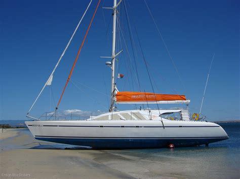 Small Catamaran For Sale Australia by Used Custom Sailing Catamaran 61 For Sale Boats For
