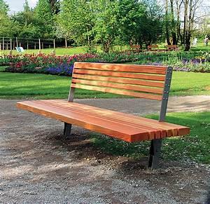 Parkbank Mit Tisch : parkbank kronach einseitig mit r ckenlehne l michow und sohn gmbh ~ Markanthonyermac.com Haus und Dekorationen