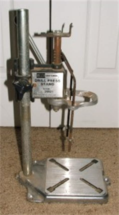 vintage sears craftsman portable drill press stand model number 925921 ebay