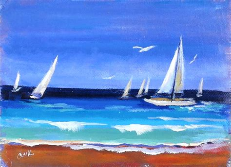 Sailboats Videos by Paint Brush Review And Sailboats Youtube Live Lesson