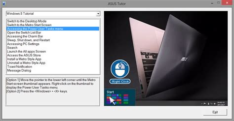 Asus Tutor An Example Of What Microsoft Should Have Included With Windows 8 Techgage