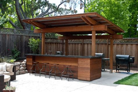 Outdoors Bar : Covered Outdoor Patio Ideas Patio Contemporary With