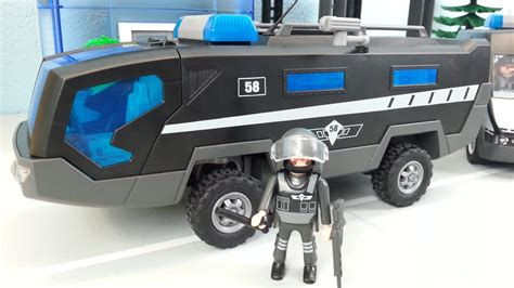 Speedboot Preise playmobil city action polizei truck mit speedboot