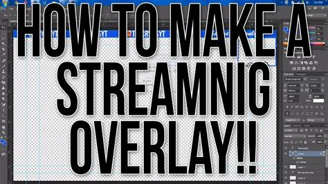 Twitch Notification Images Template Psd by How To Make A Overlay For Livestreaming With Facecam Youtube