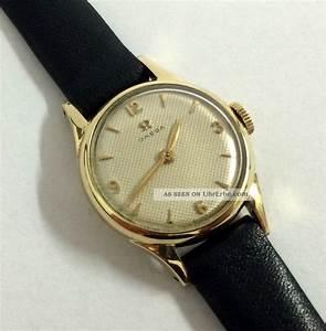 Retro Uhr Damen : vintage omega 14k 585 gold handaufzug damen uhr cal 244 ~ Markanthonyermac.com Haus und Dekorationen