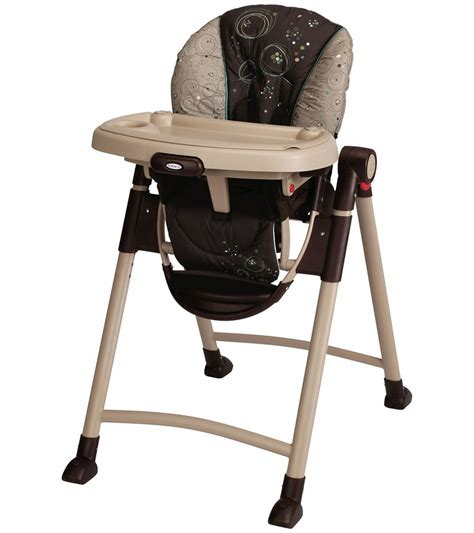 graco contempo high chair scribbles