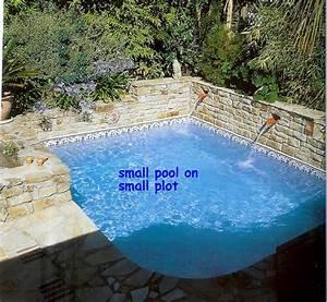 Mini Pool Design : small corner pool almost square everyone repins interior design pinterest small pools ~ Markanthonyermac.com Haus und Dekorationen